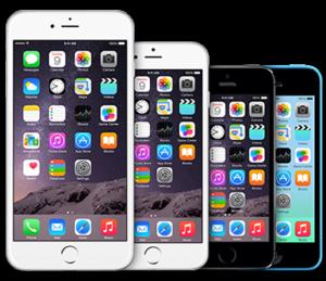 iPhone szervizfutár