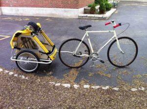 bicikli utánfutó