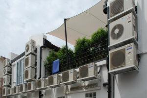 Klímák, légfüggönyök, multi split rendszerek