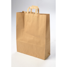 Műanyagból és papírból is készülnek zacskók