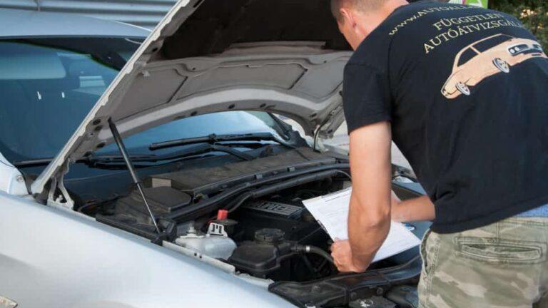 Autó átvizsgálás részletes dokumentációval